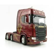 WSI 04-2096 Scania S Highline CS20H 6x2 Twin Steer Prime Mover - Scale 1:50