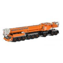 WSI 51-2085 - Australian Liebherr LTM 1750-9.1 9-axle Mobile Hydraulic Crane Johnson & Young Cranes Melbourne New 2021 - Scale 1:50