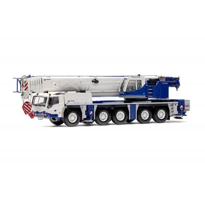 WSI 54-2000 TADANO FAUN ATF 220G-5 EURO 4 Mobile Crane TADANO Livery - Scale 1:50