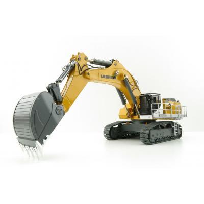 WSI 64-2003 Liebherr R 9150B Tracked Mining Excavator Yellow - Scale 1:50