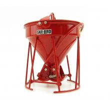 Weiss Brothers WBR002-1901 - Garbro Concrete Bucket - Round Gate - Red - Scale 1:50