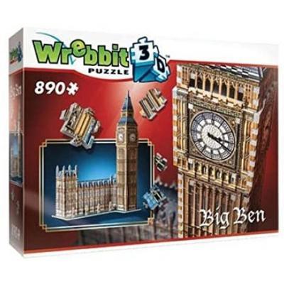 Wrebbit 02002 - Big Ben 3D Puzzle 890 pieces