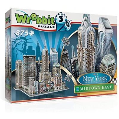 Wrebbit - Midtown East 3D Puzzle 875 pieces