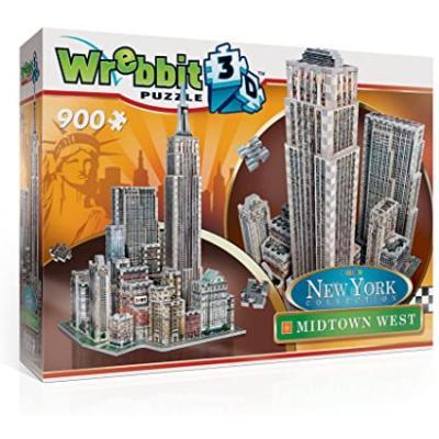 Wrebbit - Midtown West 3D Puzzle 900 pieces