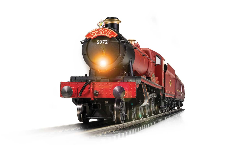 Hogwarts Express with light