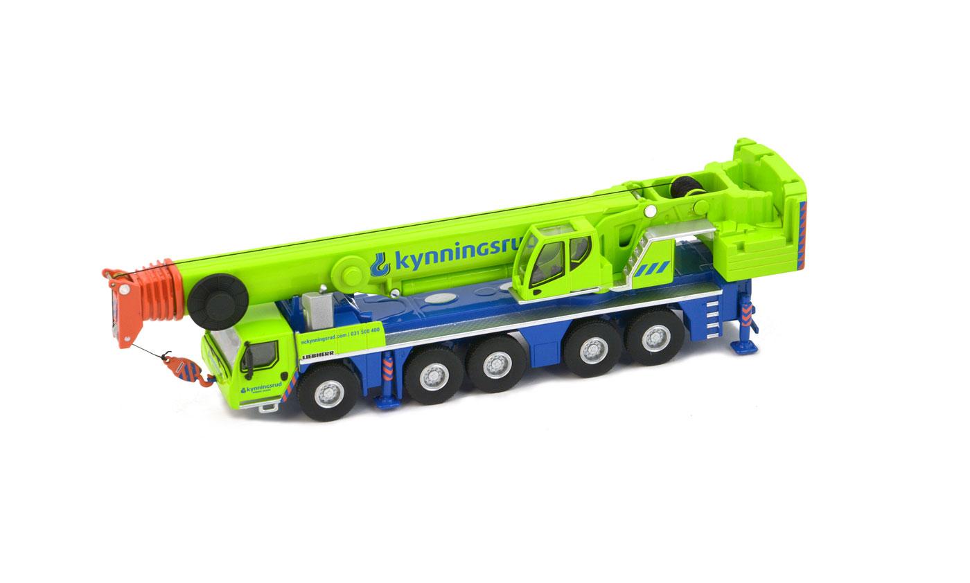 Details about IMC Models 33-0108 - Nordic Crane Liebherr LTM 1250-5 1  Mobile Crane Scale 1:87