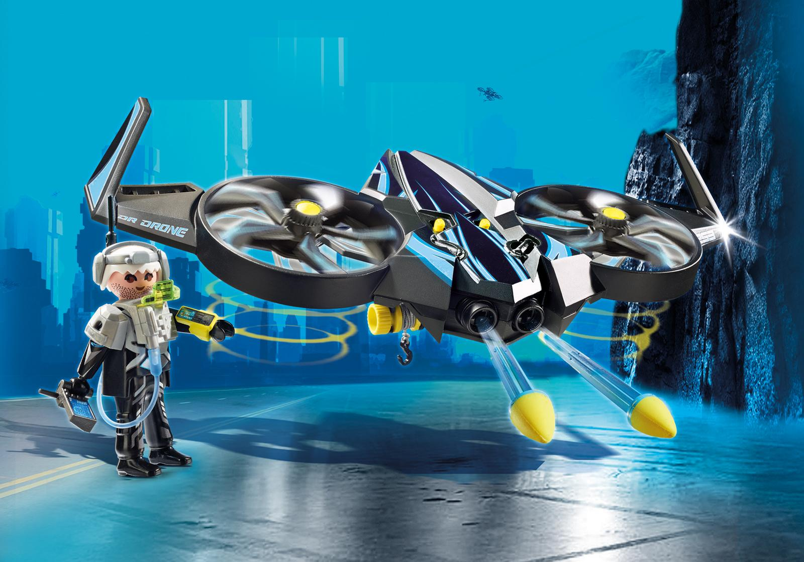 playmobil 9253 mega drone  top agents  ebay
