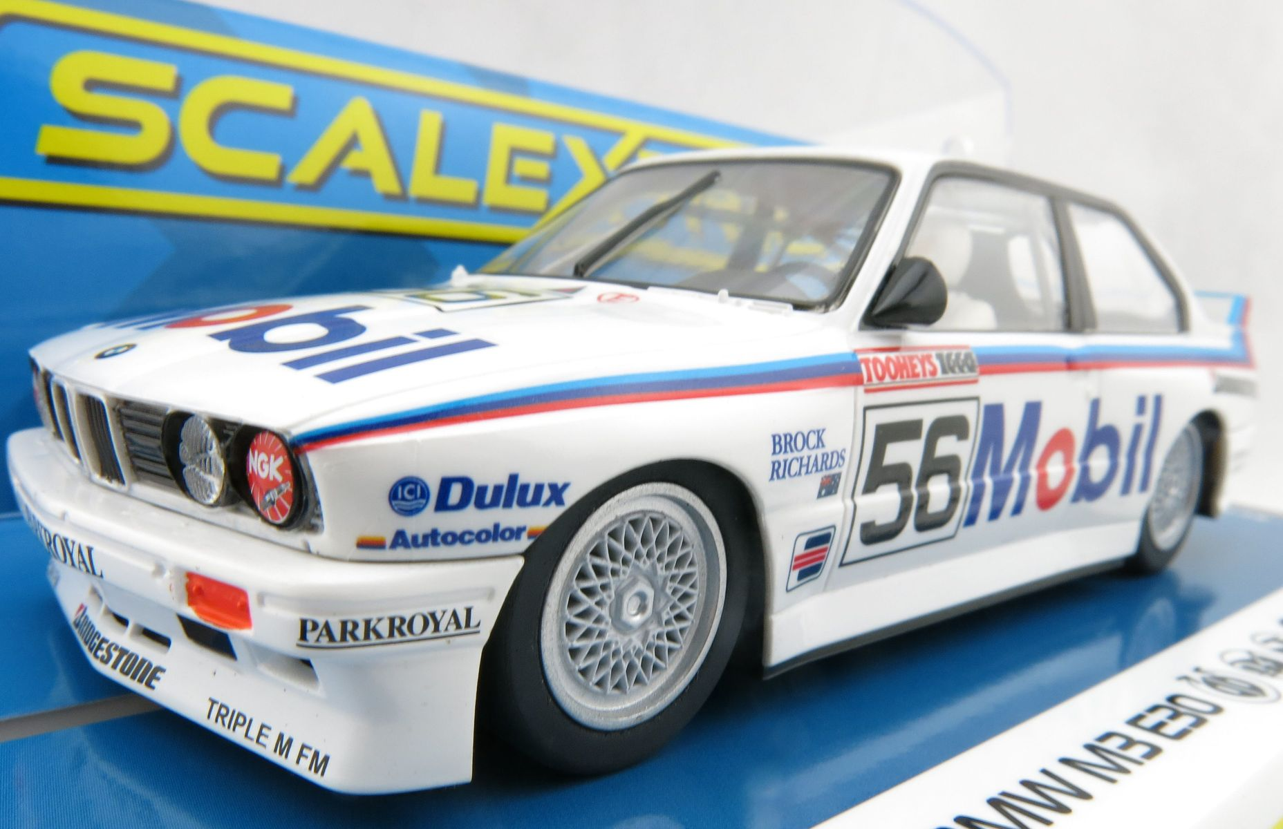 Details About Scalextric C3929 Bmw E30 M3 1988 Bathurst 1000 Brock Richards Scale 1 32