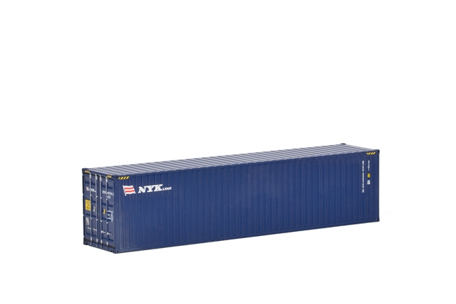 NZG 875//09-20ft Sea Container Cardem Diecast Drake Skel Load Scale 1:50
